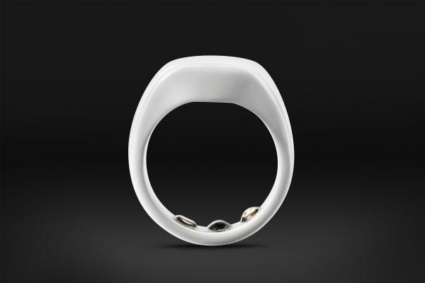 Ōura ring arctic white