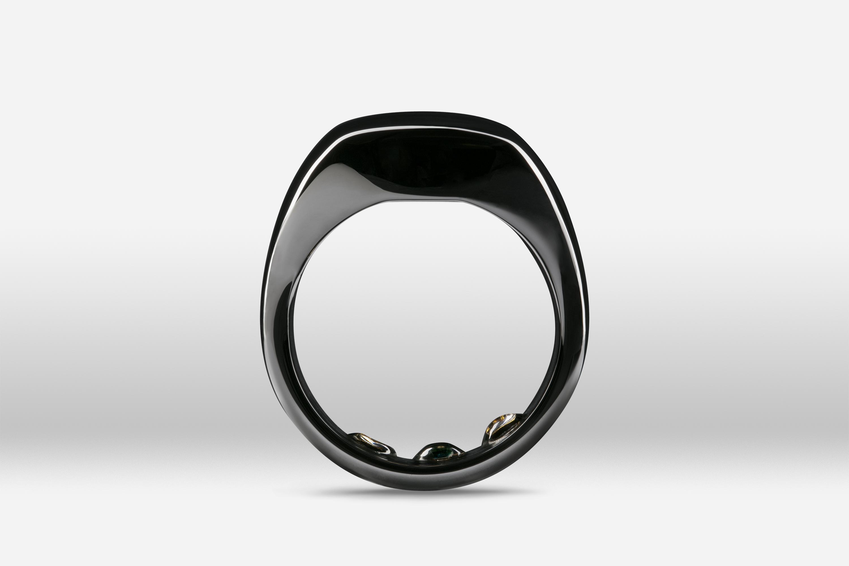 Ōura Ring Mirror Black
