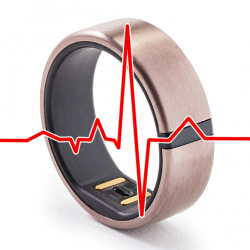 Motiv Ring with ecg signature