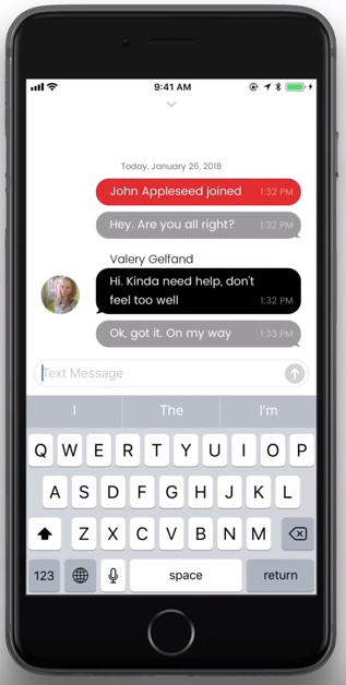 Nimb app messaging